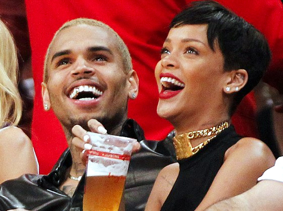 rihanna-chris-brown-lakers