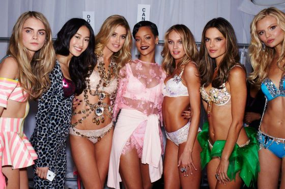 rihanna victoria secret bikini