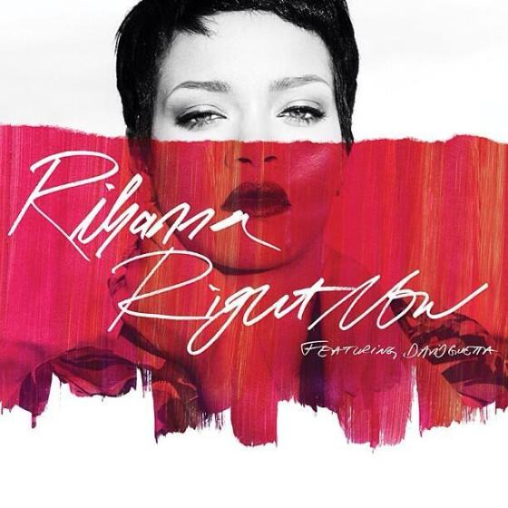 right now single cover rihanna