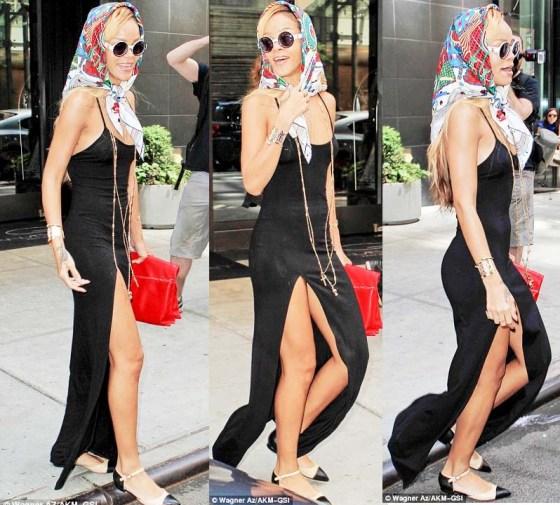 rihanna-headscarf-maxi-dress