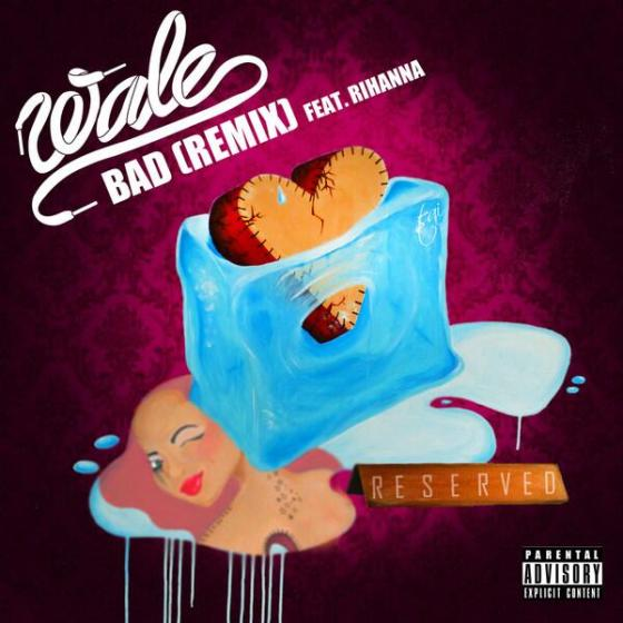 BAD REMIX SINGLE COVER