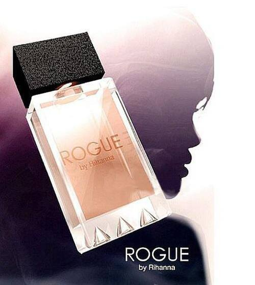 rihanna rogue fragrance perfume bottle
